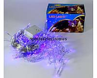 Новогодняя гирлянда сетка 120 NET B (120 светодиодов), светодиодная новогодняя гирлянда, гирлянда синего цвета