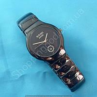 Часы Rado Jubile A239 114260 черные женские круглые темная сталь диаметр 40 мм календарь