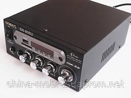 Усилитель  ресивер  UKC SN-805U + Karaoke,  MP3 SD USB AUX FM 12v   220v, фото 3