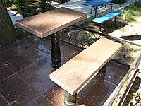 Гранитные столы на кладбище (столики из гранита)