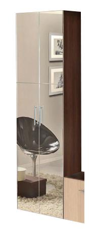 Зеркальный шкаф Марго-1 Мастер Форм