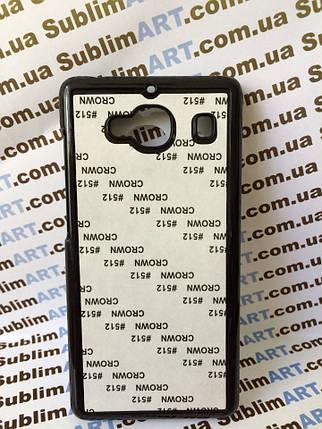 Чехол для 2D сублимации пластиковый на Xiaomi Redmi 2 черный, фото 2