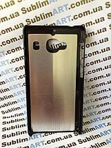 Чехол для 2D сублимации пластиковый на Xiaomi Redmi 2 черный, фото 3