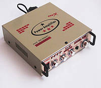 Усилитель (ресивер) UKC SN-909AC + Karaoke,  MP3/SD/USB/AUX/FM 12v / 220v, фото 1