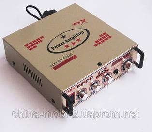 Усилитель (ресивер) UKC SN-909AC + Karaoke,  MP3/SD/USB/AUX/FM 12v / 220v