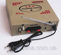 Усилитель (ресивер) UKC SN-909AC + Karaoke,  MP3/SD/USB/AUX/FM 12v / 220v, фото 2