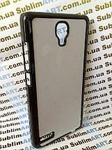 Чехол для 2D сублимации пластиковый на Xiaomi Redmi Note черный, фото 2
