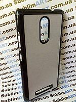 Чехол для 2D сублимации пластиковый на Xiaomi Redmi Note 3 черный
