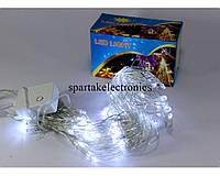 Светодиодная гирлянда сетка 120 NET W, новогодняя гирлянда 120 светодиодов, гирлянда led белая