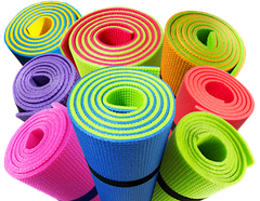 Коврики для фитнеса йоги аэробики, танцев