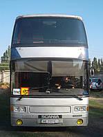 Лобовое стекло верхнее Scania K113TL Irízar Dragón