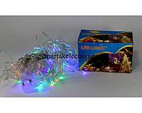 Новогодняя многоцветная гирлянда 120P ICICLE M сосулька (120 светодиодов), гирлянда наружная светодиодная