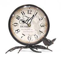 Часы настольные металл 19х10х18 см. AN-06