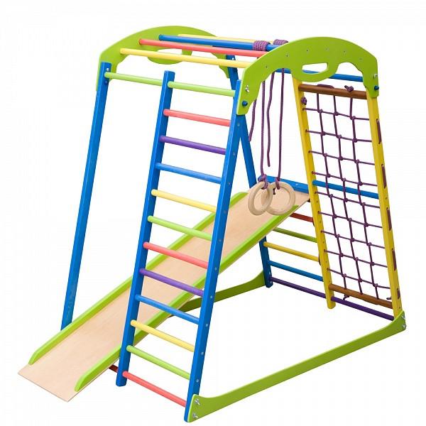 Дитячий спортивний комплекс для будинку SportWood (ТМ SportBaby)