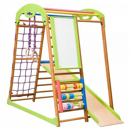 Детский спортивный комплекс для дома BabyWood Plus (ТМ SportBaby), фото 2