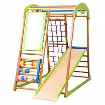 Детский спортивный комплекс для дома BabyWood Plus (ТМ SportBaby), фото 3
