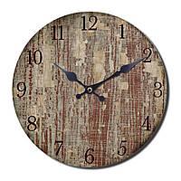 """Часы настенные """"Вуди"""" 34х34 см. ED07"""