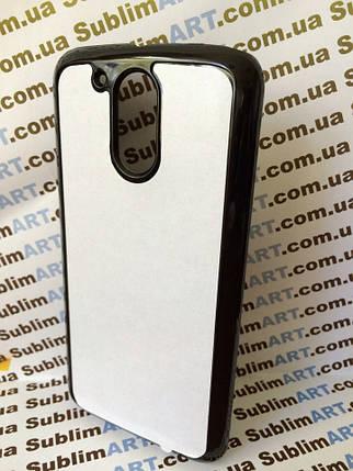 Чехол для 2D сублимации пластиковый на Motorola Moto G4 черный, фото 2