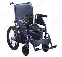 електрична інвалідна коляска з туалетним стільцем