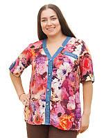 Легкая летняя рубашка №1621