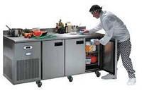 Холодильные столы на профессиональной кухне