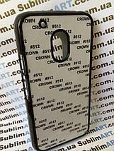 Чехол для 2D сублимации пластиковый на Motorola Moto G4 Play черный, фото 3