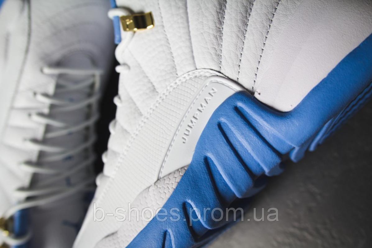 65764528 Женские Кроссовки Nike Air Jordan Retro 12 GS (University Blue), цена 1 795  грн., купить в Киеве — Prom.ua (ID#343347986)