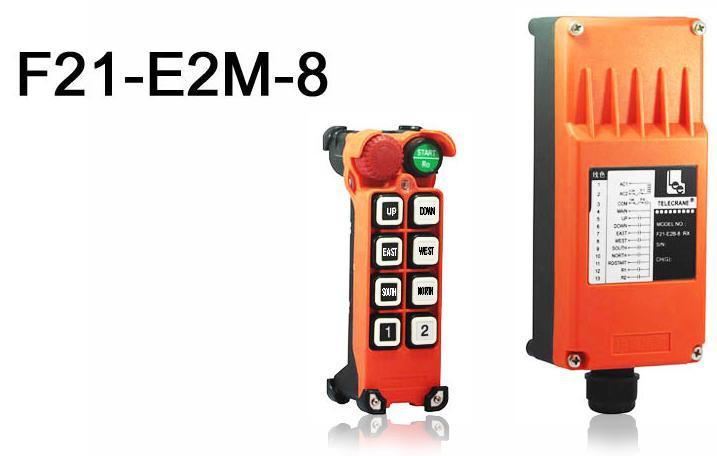 TELECRANE модель F21-E2M-8 Промышленное радиоуправления - Малое предприятие Ремикс в Белой Церкви