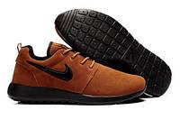Кроссовки Мужские Roshe Roshe Yeezy Nike (35-45 коричневые)