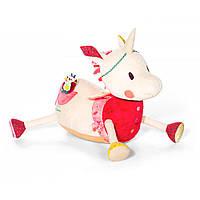 Lilliputiens - Большая развивающая игрушка единорог Луиза