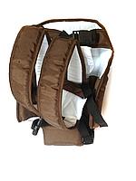 Рюкзак кенгуру переноска сидя, для детей с трехмесячного возраста, Коричневый