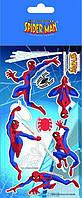 "Наклейки ""Spider-Man"" (Человек-Паук), ТМ Kite"