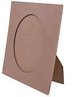 Рамка для фотографий овал картонная (180x150mm)