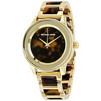 Часы Michael Kors Kinley Tortoise Acetate Gold-tone MK6353
