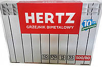 Радіатор біметалічний HERTZ 500/80