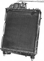 Радиатор водяного охлаждения МТЗ Т 70 с двигателем Д 240, 241 (4-х рядный) алюминевый с металическими бачками