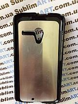 Чехол для 2D сублимации пластиковый на Motorola Moto X черный, фото 3