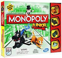 Hasbro Настольная игра Моя первая монополия