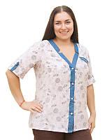 Легкая летняя рубашка №1622