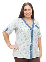 Легкая летняя рубашка №1623