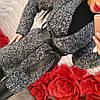 Твидовое пальто с поясом, фото 2