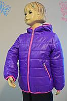 Курточка детская демисезонная для девочек (Размер: 98, 104, 110, 116)