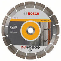 Алмазний диск п/бетону, 230мм Сегмент  PF Universal, BOSCH 2608603248