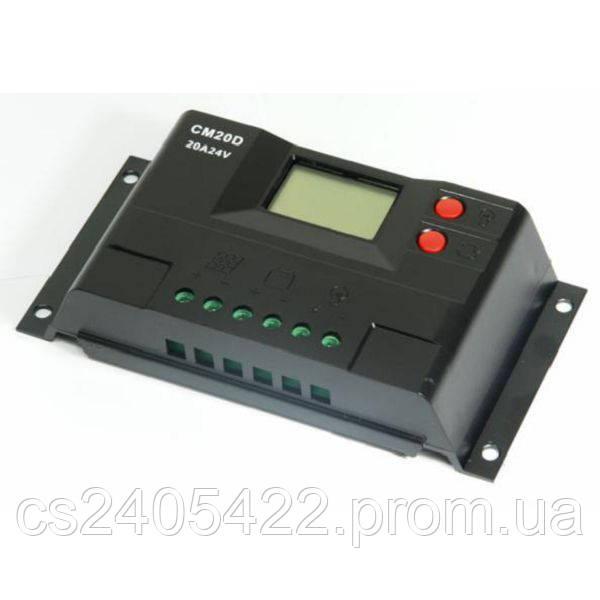 Контроллер заряда ALTEK CM20D 20A 12/24V+USB