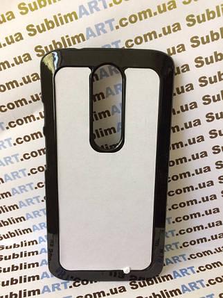 Чехол для 2D сублимации пластиковый на Motorola Moto X Force черный, фото 2