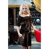 """Бархатное платье """"Виктория Сикрет"""" - только 42 размер С в черном"""