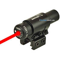 Лазерный целеуказатель с креплением на планку Пикатинни/Вивера/Ласточкин Хвост, фото 1