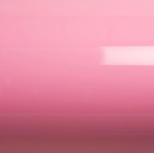Глянцевая пленка на авто розовая GrafiTack® 100мкм 1,52метра