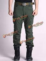 Мужские военные тактические брюки-карго на открытом воздухе обучения длинные брюки