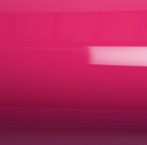 Глянцевая пленка на авто ярко-розовая GrafiTack® 100мкм 1,52метра